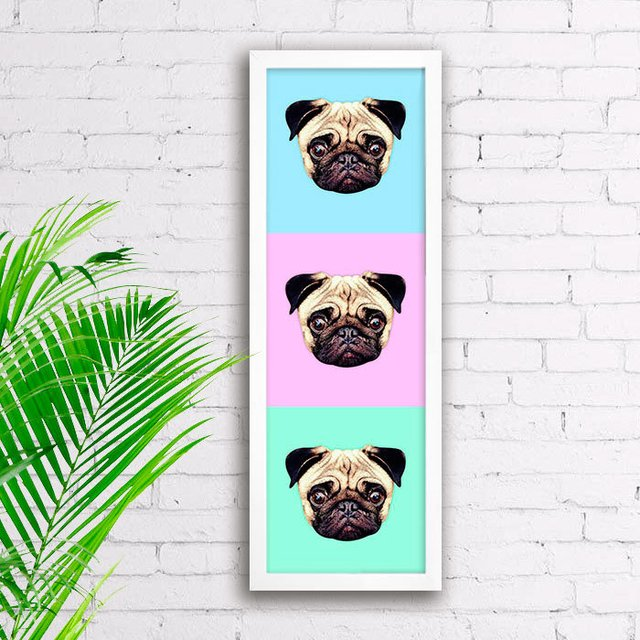 Poster Pugs na internet