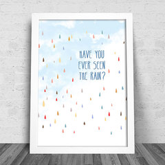 Poster Creedence - Have You Ever Seen The Rain? na internet