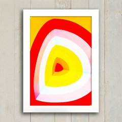 Poster Red & Yellow Form - comprar online