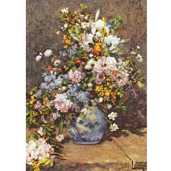 renoir buqu de flores da primavera