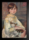 Imagem do Renoir - Retrato de Julie Manet com Gato