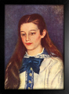 Imagem do Renoir - Retrato de Therese Bernard
