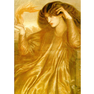 Rossetti - The Women of the Flame