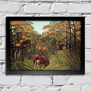 Rousseau - Macacos no Orange Grove - comprar online
