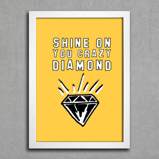 Poster Pink Floyd Shine on You Crazy Diamond na internet