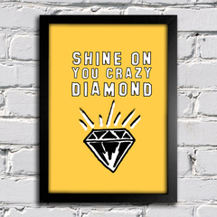 poster pink floyd shine on you crazy diamond