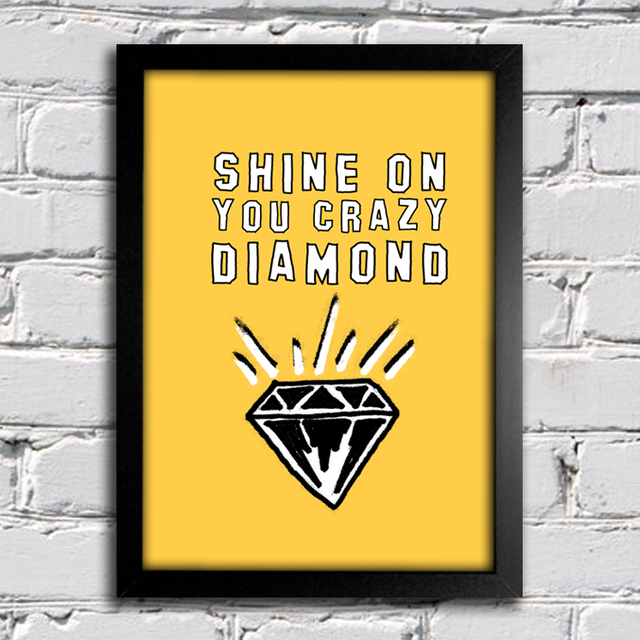 Poster Pink Floyd - Shine on You Crazy Diamond