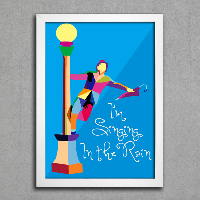 Poster I'm Singing In The Rain - comprar online
