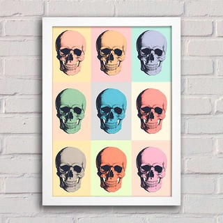 Poster Skull Colors na internet