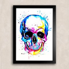 Poster Skull Colors II