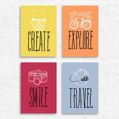 Kit Create Explore Smile Travel