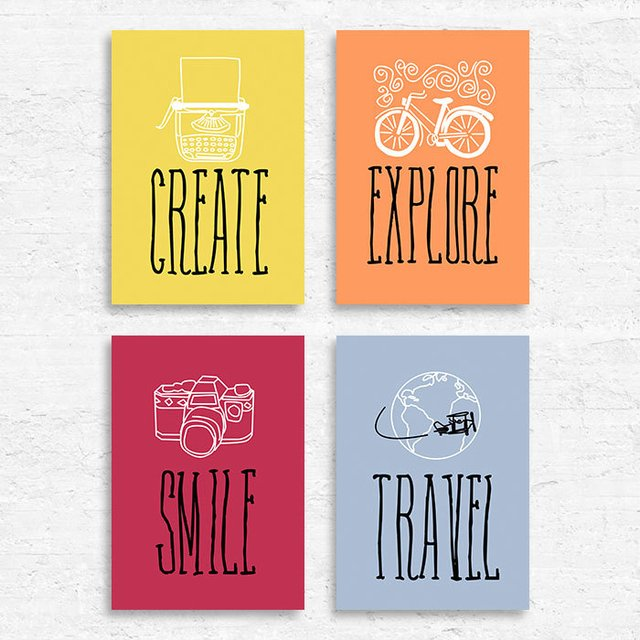 Kit Create Explore Smile Travel na internet