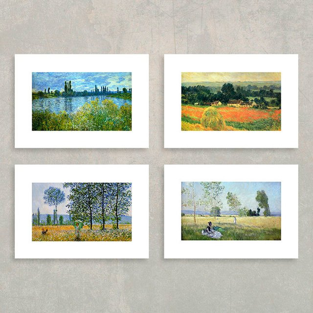 Kit Paisagens de Monet