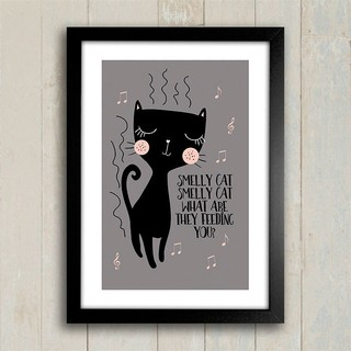 Poster Smelly Cat - comprar online