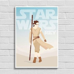 Poster Star Wars - Rey na internet