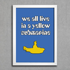 Poster Beatles We All Live in a Yellow Submarine
