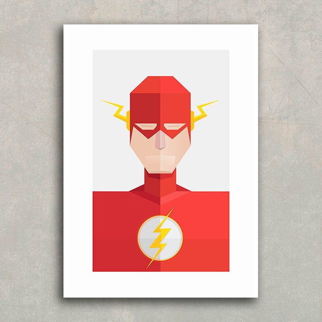Poster Super Heróis - Flash