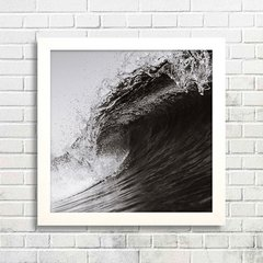 Quadro The Wave B&W II
