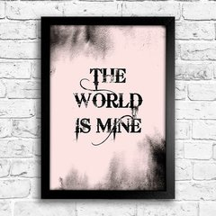 Poster The world is mine na internet