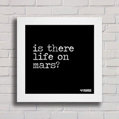 Quadro Is There Life on Mars? - comprar online