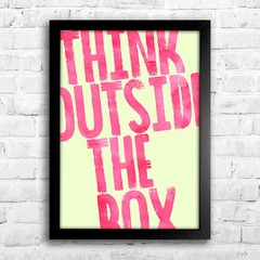 Poster Think outside the box - comprar online