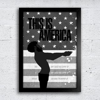 Poster This is America - comprar online