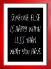 Poster Someone Else is Happy - loja online