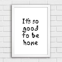 Poster To Be Home - comprar online