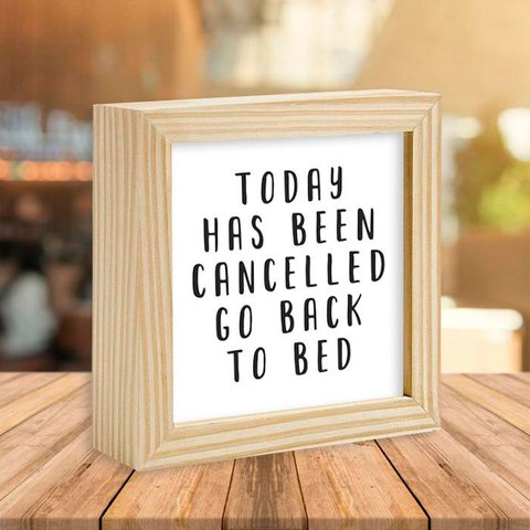 Quadro Box Today has been cancelled - comprar online