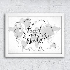 Poster Travel the World na internet