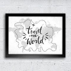 Poster Travel the World - comprar online