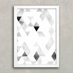 Poster Triangles B&W na internet