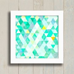 Quadro Triangles Green na internet