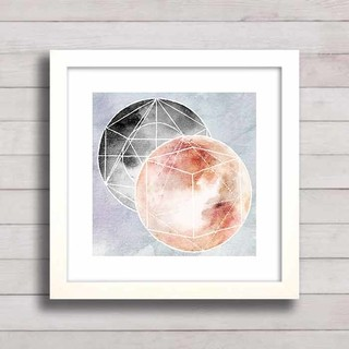 Quadro Two Moons na internet