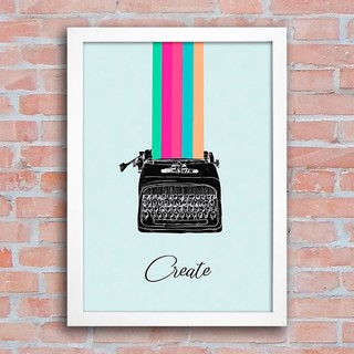 Poster Typewriter - Create na internet