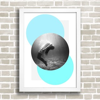 Poster Under Water - comprar online