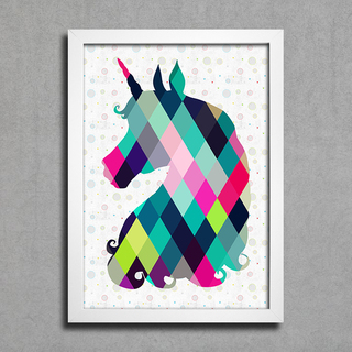 Poster Unicorn na internet