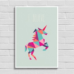 Poster Unicorn - I Believe na internet