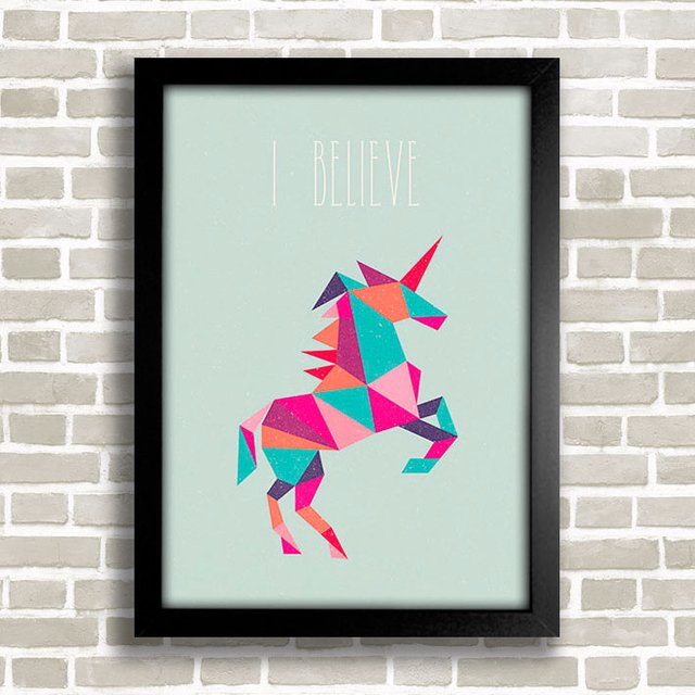 Poster Unicorn - I Believe