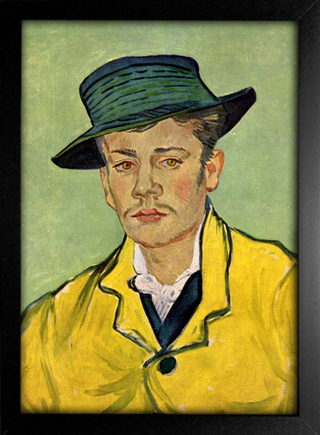 Imagem do Van Gogh - Retrato de Armand Roulin