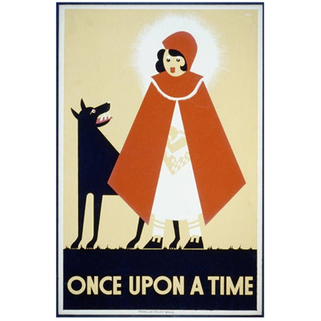 Poster Little Red Riding Hood - loja online