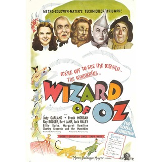 Vintage Wizard Of Oz Poster 67