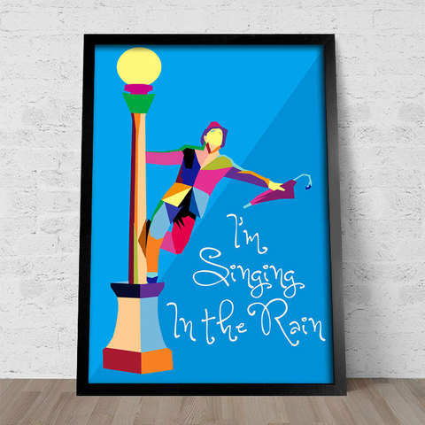 Poster I'm Singing In The Rain