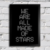 Poster Moby - We Are All Made Of Stars - Encadreé Posters