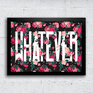 Poster Whatever - comprar online