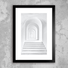 Poster White Archway
