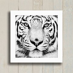 Quadro White Tiger na internet