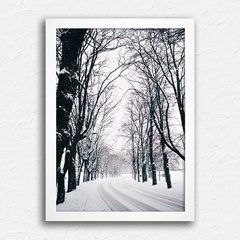Poster Winter Trees - comprar online