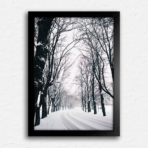 Poster Winter Trees