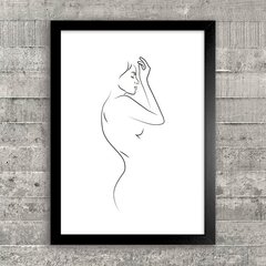 Poster Woman Line Art I